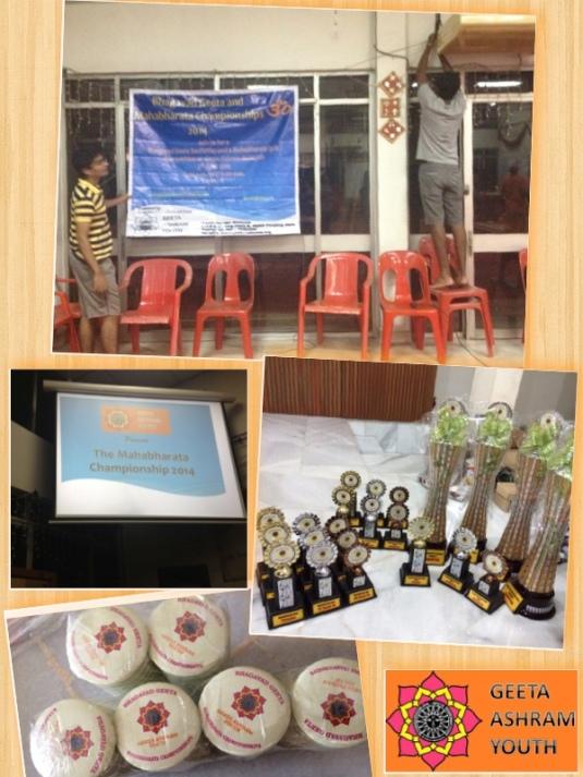Bhagavad Geeta and Mahabharata Championships 2014.. a glimpse!
