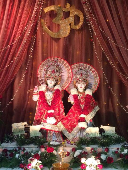 Radha Krishna @ Geeta Ashram on Janmashtmi