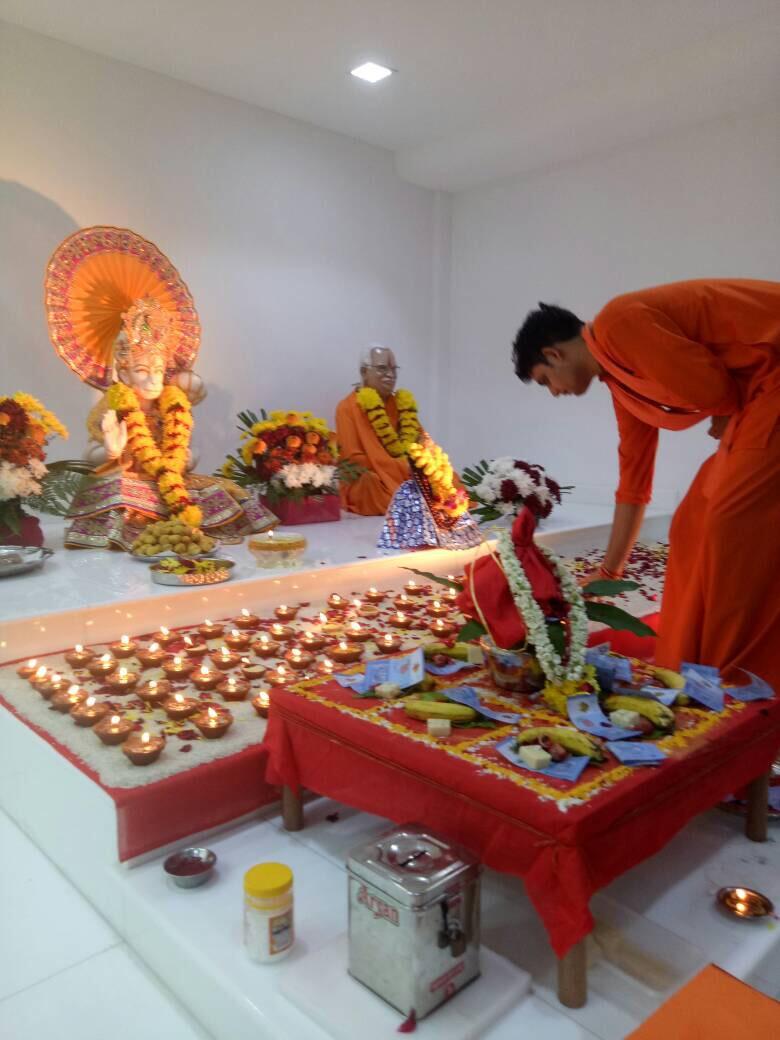 07 10 2017: Shri Anjaneya Mahä Puja | Geeta Ashram Youth